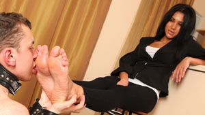 Russian mistress feet